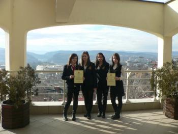 Учениците от Американски Колеж Аркус ®...