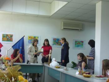 """Минчо Габеров от 10а клас при ЧПГ""""АК-Аркус""""..."""
