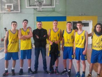 Първо и второ място на ученическите игри по баскетбол