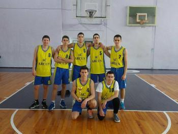 Второ място на Американски колеж Аркус на Общинските ученически игри по баскетбол