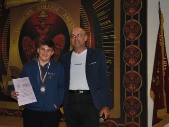 """Първо място и медал на Международното математическо състезание """"Европейско кенгуру""""- 2017 г."""