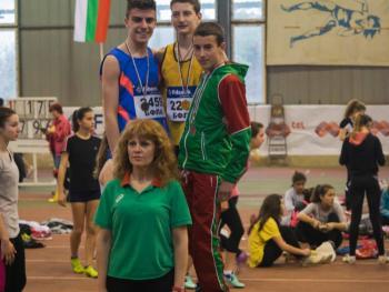 Георги Арсов (VІІІ б клас) - втори на Републиканско първенство по лека атлетика