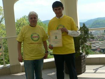 """Национален  конкурс на Международната образователна програма """"SPARE"""""""