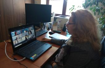 Съдии - онлайн в класните стаи на колежа