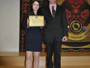 """Стипендия """"Анета Караиванова"""" за първия срок на учебната 2014/2015 година"""